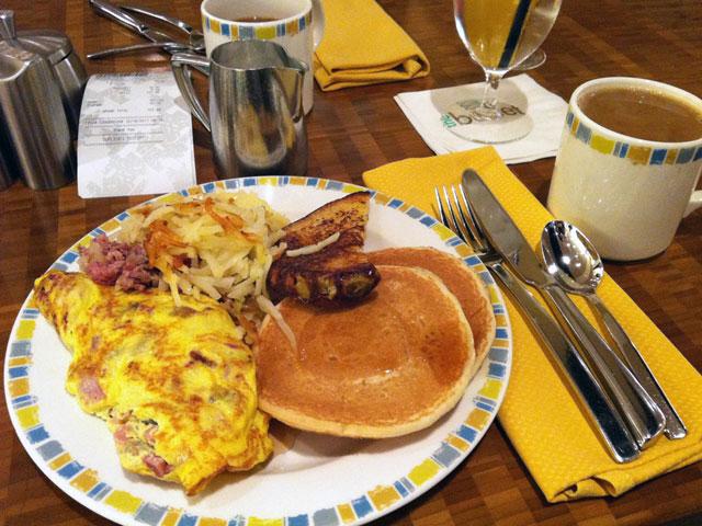 aria las vegas breakfast